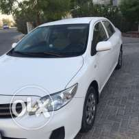 COROLLA 2012 XLI 1.8 Liter Excellent Condition First Party