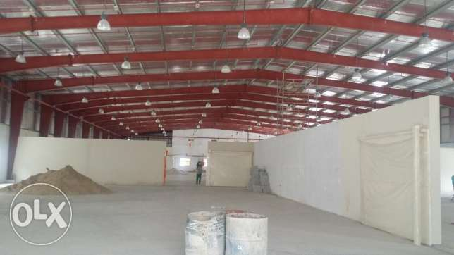 Warehouse For Rent New Industrial area