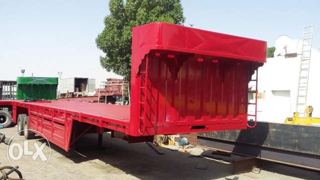 brand new trailers with 50 ton capacity with five year warranty of bed