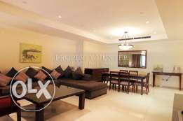 All in Furnished 2 Bed Home in The Pearl