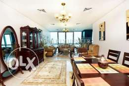Sophisticated Furnished 3 Bed with Sea Views