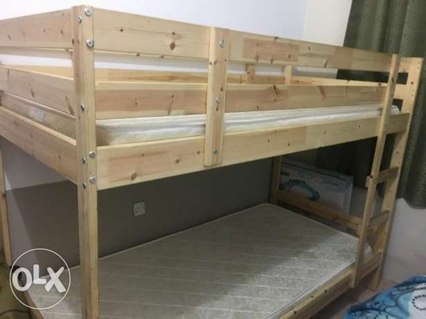 Kids Bunk bed with matress