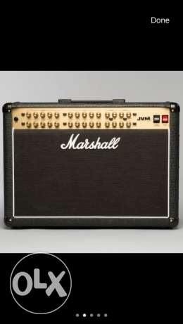 "Marshall JVM410C 100 Watt Tube Amp ""Mint"""