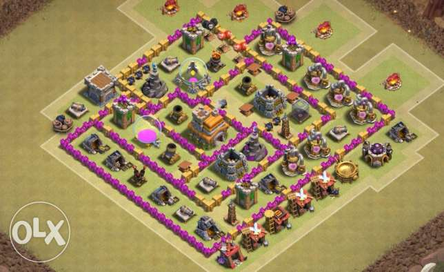 Level 64 Clash Of Clans Account!
