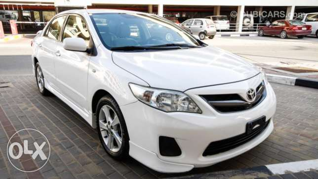 corolla sport 2013 full option