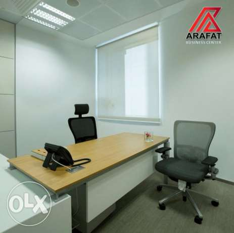 Furnished commercial office Space