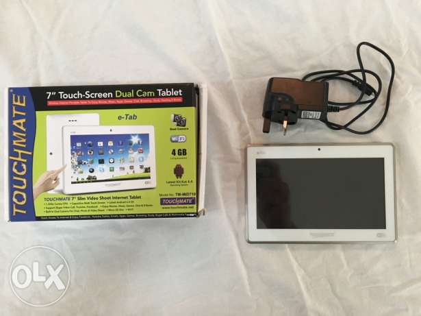 "TOUCHMATE 7"" Touch-Screen Dual Cam Tablet"
