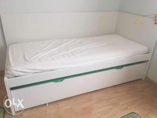 2 in 1 Bed with under bed