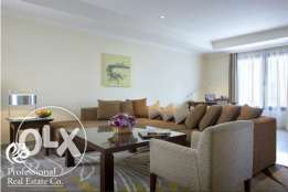 Fully Furnished, 2-Bedroom Flat /The Pearl Qatar/