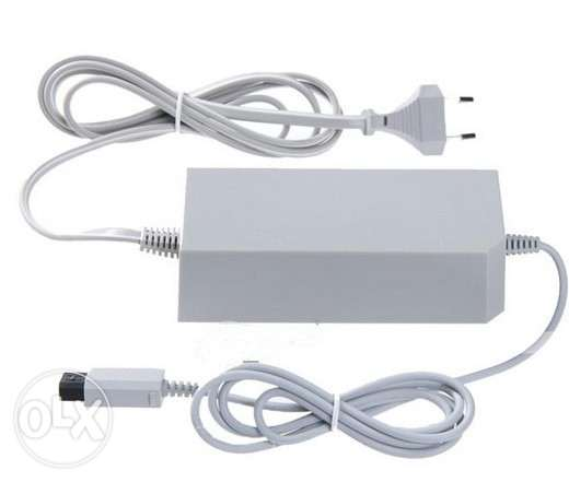 Wii Ac adapter 230V & AV CABLE