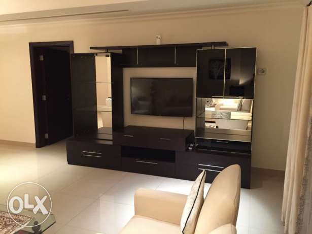 1bedroom fully furnished for rent in pearl porto Arabia