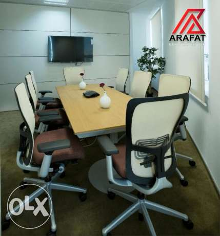 Furnished space ready to move in offices