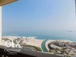 FREE FIRST MONTH, 3-Bedroom Apartment at The Pearl-Qatar
