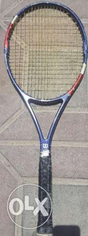 Wilson tennis racket for sale in Doha