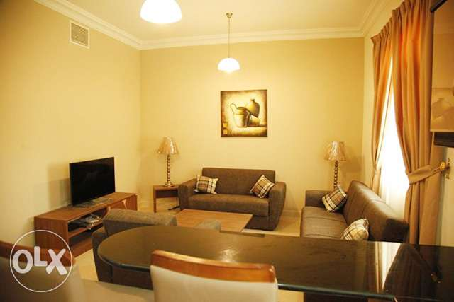 Fully-Furnished 1-Bedroom Rent At {Fereej Abdel Aziz}