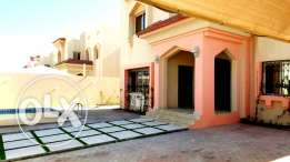 very nice 6 bedroom semi furnished commercial villa in duhail