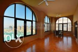 For Rent at The Pearl: Marina view 3 Bed + maid Penthouse