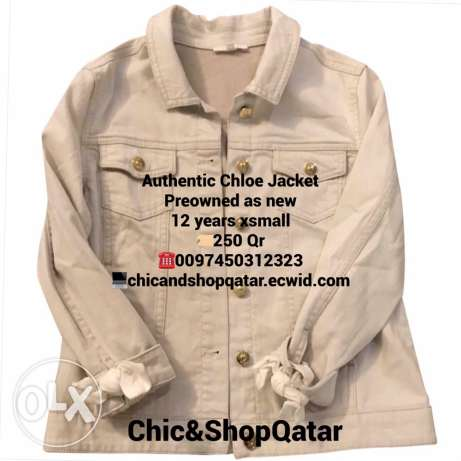 Authentic Chloe Jacket preowned