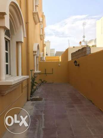 for bachelors..spacious unfurnished stand alone villa at wakrah.