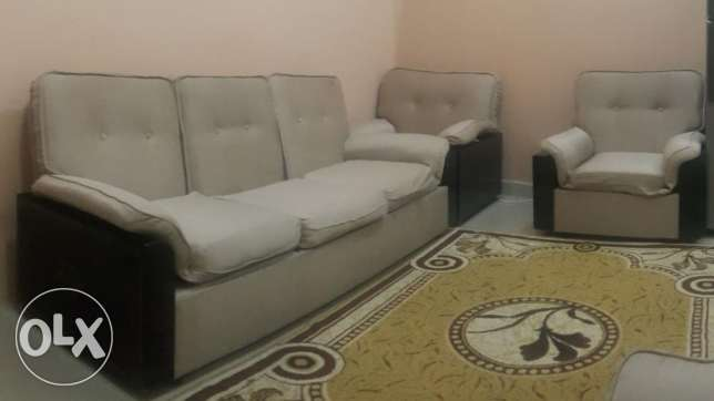 3 seater sofa+5 chair