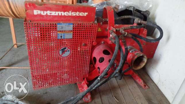 Used Putzmeister shutt off valve for sale