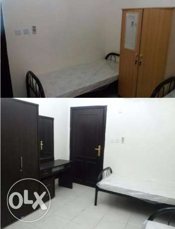 Rooms & Bed Spaces for Indian-Srilankan Bachelors, in Al Saad