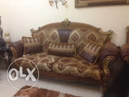 Sofa set for sale. only 2700 (negotiable)