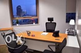 Fully Furnished Offices for rent for only 5499 QR