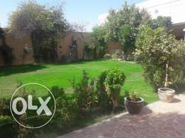 G+2 Land with Big Villa For Sale