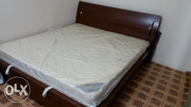 King size double bed with mattress.Storage+hydraulic. from Home centre
