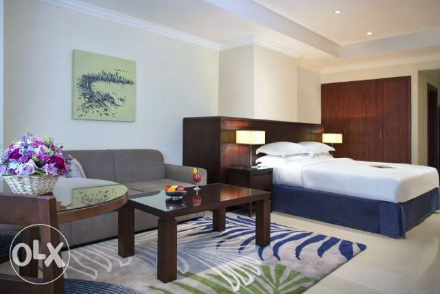 Fully/Furnished Studio-Type Flat At The Pearl Qatar