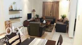 Fully Furnished 1-BR Flat in AL Sadd/Gym,including Water,Electricity