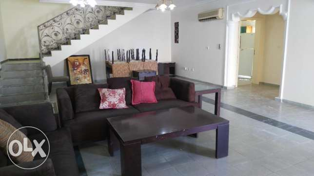 Semi furnished Stand Alone villa is for rent at Al Waab