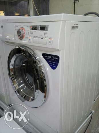 LG washing machine front loader full automatic less used