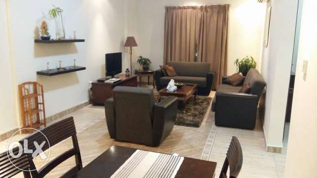 fully furnished 1 bhk flat in al sad included water and electricity السد -  6