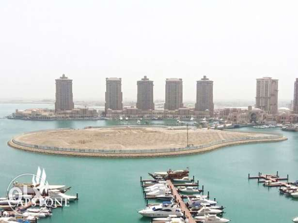 Enjoy Luxury in 2 BR + M Apt. at The Pearl FOR SALE الؤلؤة -قطر -  7