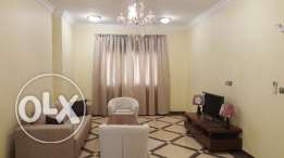 Big 3 bhk semi furnished apartments available in muntazah