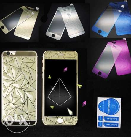 3D Tempered glass for iPhone 4,5,6,6s,6+