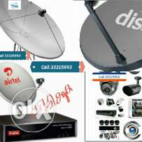 Satellite dish and cctv work
