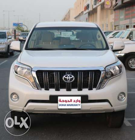 New Toyota Prado V6 Model 2016