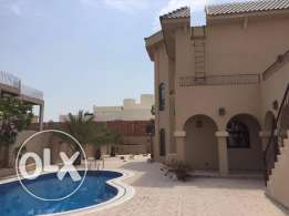 6 Bedroom Villa for Rent with Yard & Swimming Pool