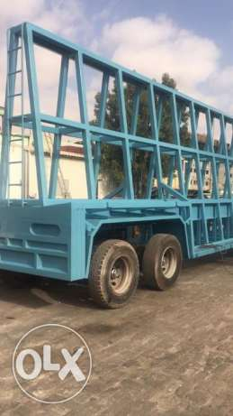 new A frame trailers for construction purpose