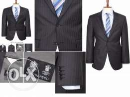 Italian Wool Mens Brown and Grey SUITS by Austin Reed (UK)