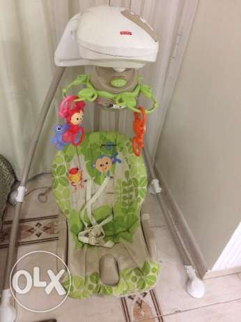 Fisher price fully automatic swing for sale at 350QR