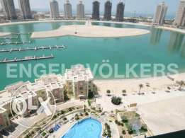 Fully Furnished 3 bedroom with Marina View