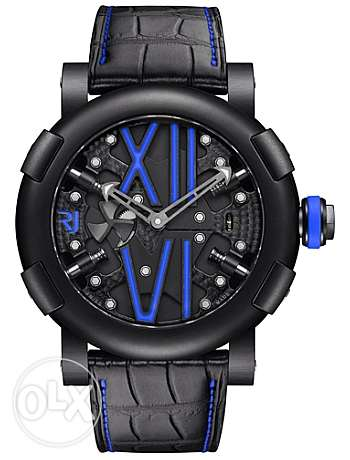 Romain Jerome Steampunk Auto Blue