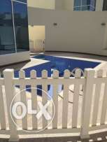 Semi Furnished 3-BR Villa in Ain Khaled-Pool-QR.12000