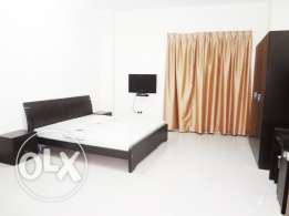 Fully-Furnished Studio-Type in -{Bin Mahmoud} -