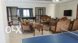 Very nice semi furnished villa apartment available for executive staff