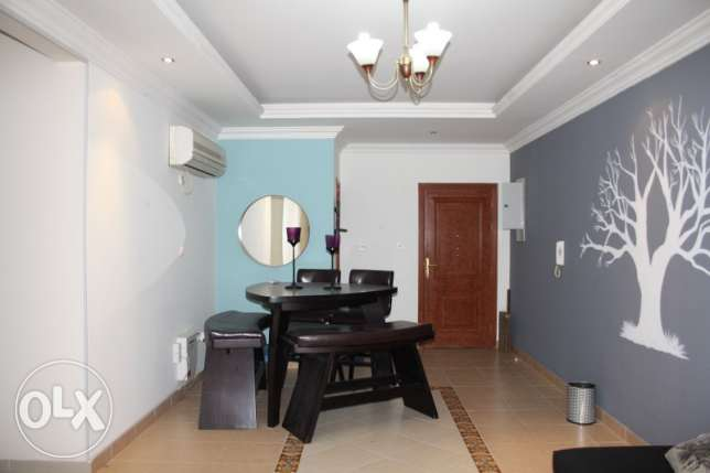FF 2 bedrooms apartment in al sadd area